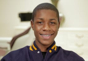 Irvin the braces patient in Metairie, LA